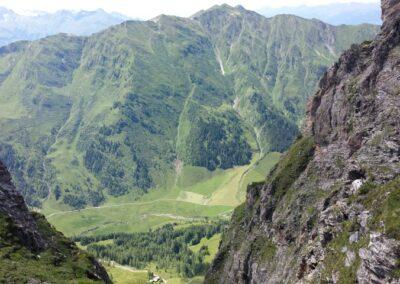 doorkijkje naar het dal