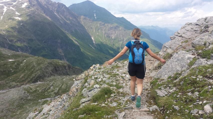 Balanceren op de berg