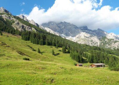 vergezichten in de Alpen