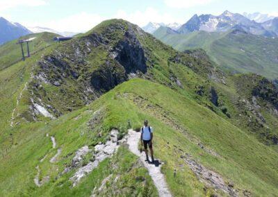 bergpaden in Oostenrijk
