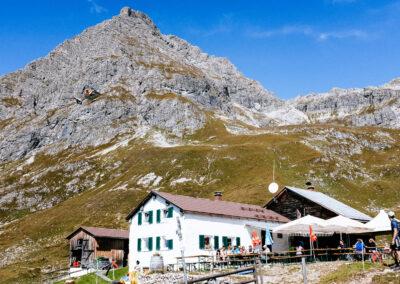 Berghut in het Kleinwalsertal